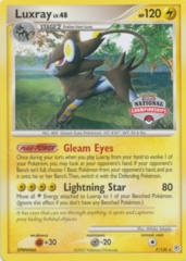 Luxray 7/130 Non-Holo Promo - 2008 National Championships