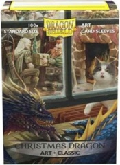 Dragon Shield Classic Art Standard-Size Sleeves - Christmas Dragon - 100ct