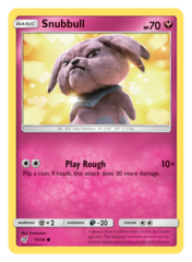 Snubbull - 15/18 - Holo Common