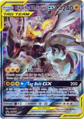 Pikachu & Zekrom GX SM168 Holo Promo - Tag Team Tins