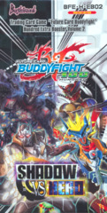 Buddyfight BFE-H-EB02 Shadow VS Hero Booster Box