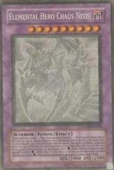 Elemental Hero Chaos Neos - GLAS-EN036 - Ghost Rare - Unlimited Edition