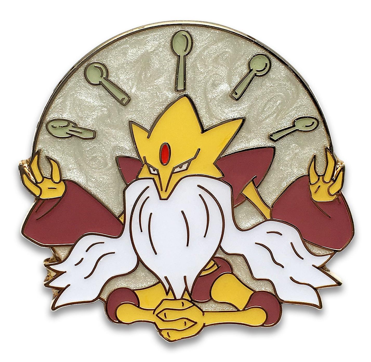 Mega Alakazam Pin Fates Collide Blister Exclusive Pokemon Card