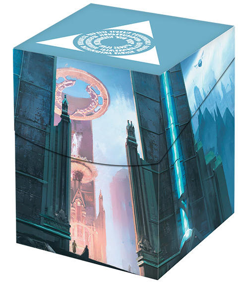 Ultra Pro Magic The Gathering MTG RAVNICA DECK CARD BOX 100 Azorius Senate