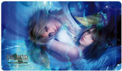 Final Fantasy TCG Playmat - Final Fantasy X Tidus & Yuna Playmat