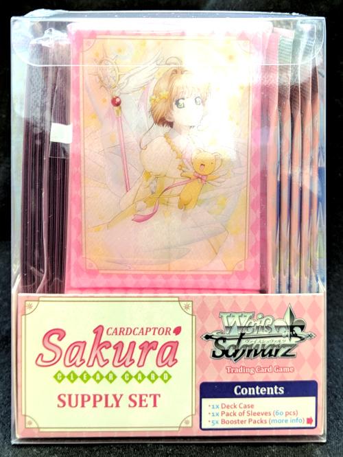Weiss Schwarz Cardcaptor Sakura Clear Card Trial Deck English NEW Sealed Starter