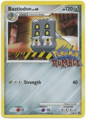 Bastiodon 14/16 Holo Promo - Pokemon Rumble