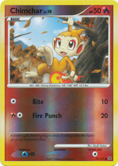 Chimchar - 70/127 - Common - Reverse Holo
