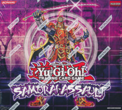 Yu-Gi-Oh Samurai Assault Special Edition Display Box