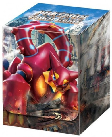 Japanese Pokemon XY11 Explosive Fighter Volcanion Deck Box