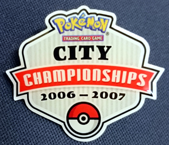 Pokemon TCG City Championships 2006-2007 Pin