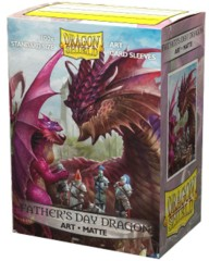 Dragon Shield Matte Art Standard-Size Sleeves - Father's Day Dragon 2020 - 100ct