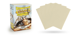 Dragon Shield Matte Standard-Size Sleeves - Ivory - 100ct
