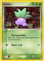 Oddish - 68/101 - Common - Reverse Holo