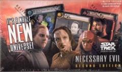Star Trek CCG Necessary Evil Booster Box
