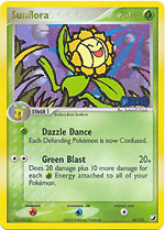 Sunflora - 16/115 - Rare - Reverse Holo