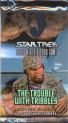 Star Trek CCG The Trouble With Tribbles Booster Pack