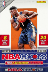2019-20 Panini Hoops NBA Trading Cards Hobby Box