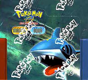 Pokemon EX Team Magma Versus Team Aqua Booster Box