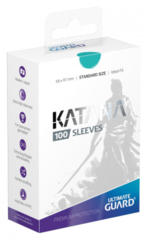Ultimate Guard Standard Size Katana Sleeves - Turquoise - 100ct