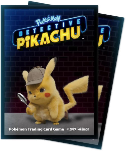Ultra Pro Standard Size Pokemon Sleeves - Detective Pikachu - 65ct
