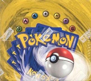 Pokemon Base Set Blue Wing Booster Box (Unlimited)