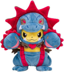 Japanese Pokemon Center Pikachu Hydreigon Costume Plush