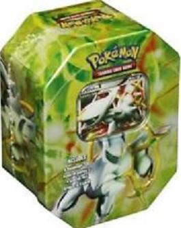 Pokemon Platinum Arceus GREEN Tin SEALED!