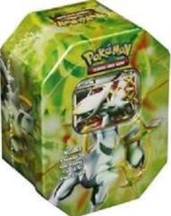 Pokemon Platinum Arceus GREEN Tin SEALED!
