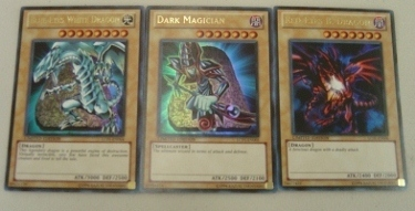 Blue Eyes White Dragon Dark Magician Red Eyes LOT SET LC01-EN004 005 006