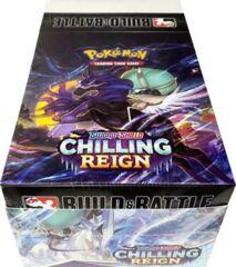 Pokemon SWSH6 Chilling Reign Prerelease Build & Battle Kit Display Box (10 Kits)