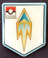 TCG Unova League Freeze Badge Pin - Icirrus City