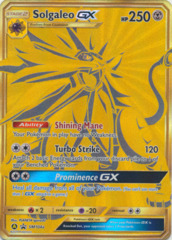 Solgaleo GX SM104a Full-Art Promo - Hidden Fates Ultra Premium Collection