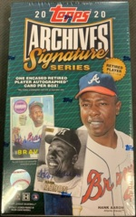2020 Topps Archives Signature Series MLB Baseball Hobby Box - Retired Player Edition
