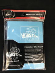 Monster Protectors 4-Pocket Binder - Matte Blue