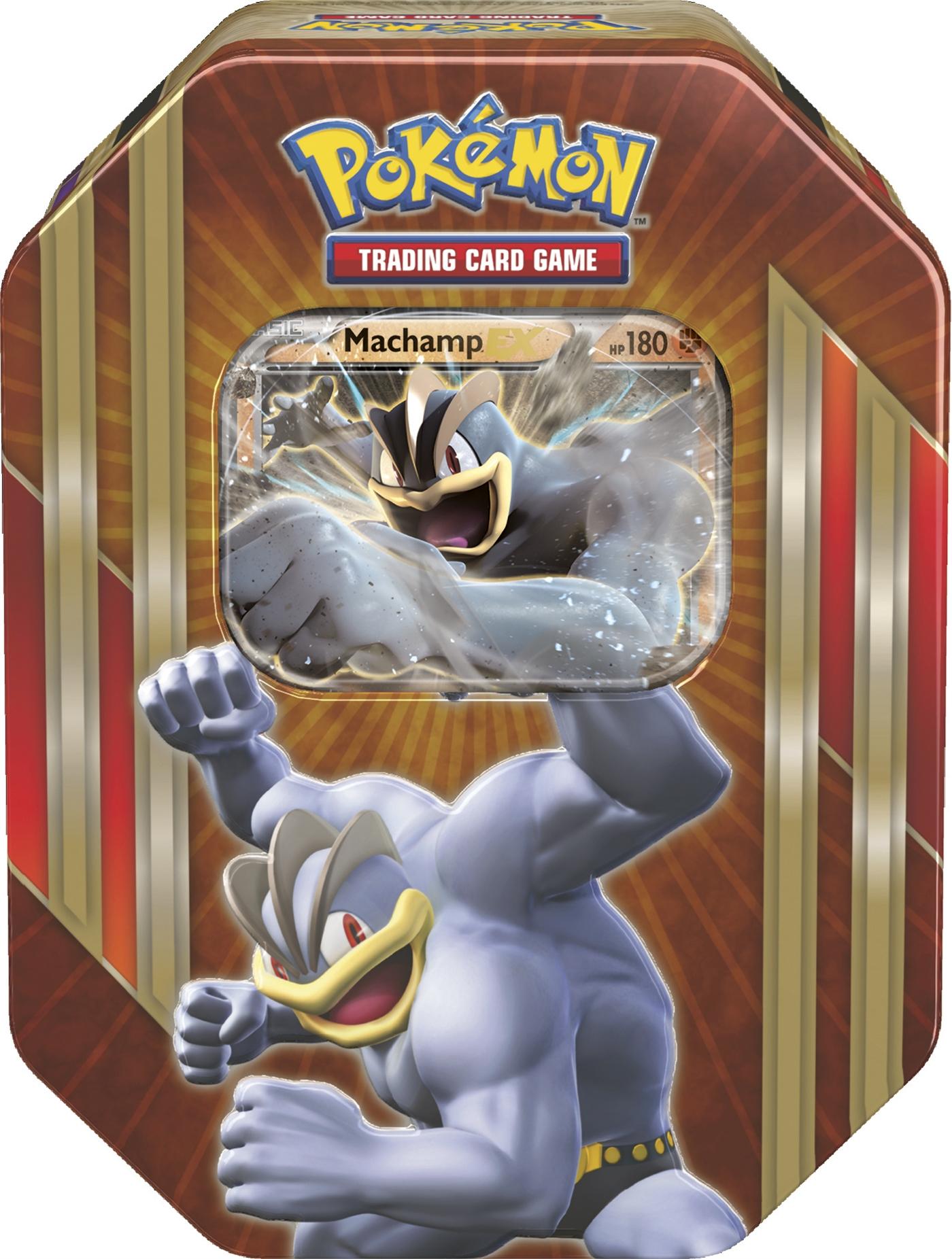Pokemon Triple Power Tin: Machamp EX