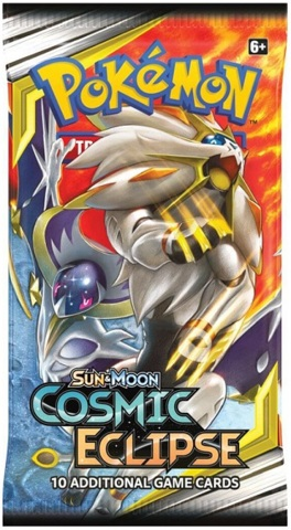 Pokemon Sun & Moon SM12 Cosmic Eclipse Booster Pack