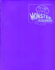 Monster Protectors 4-Pocket Binder - Matte Purple