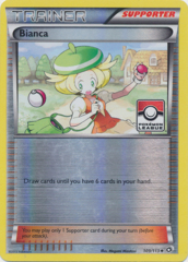 Bianca 109/113 Reverse Mirror Holo Promo - 2014 Pokemon League