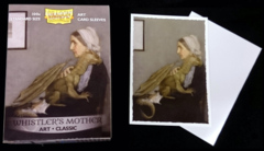 Dragon Shield Classic Art Standard-Size Sleeves - Whistler's Mother - 100ct