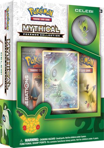 Pokemon Mythical Collection: Celebi