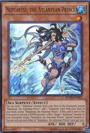 1st Edition x3 BOSH-EN060 Near Common Karma of the Destruction Swordsman