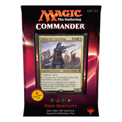 MTG Commander 2016 Deck: Open Hostility