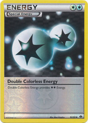 Double Colorless Energy - 92/99 - Uncommon - Reverse Holo