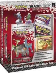 Pokemon Black & White Emerging Powers Collector's Album Box