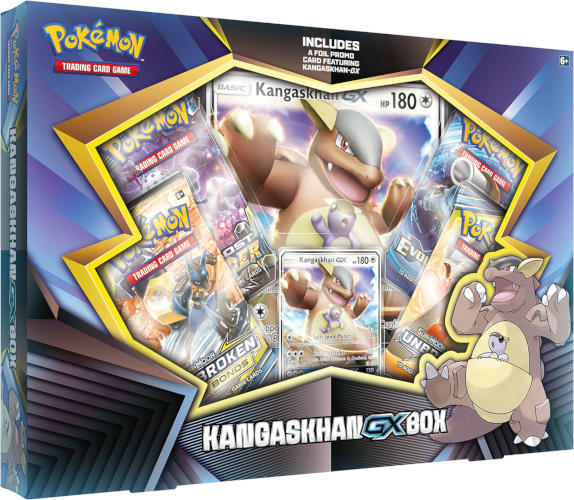 Pokemon 2019 Kangaskhan GX Collection Box
