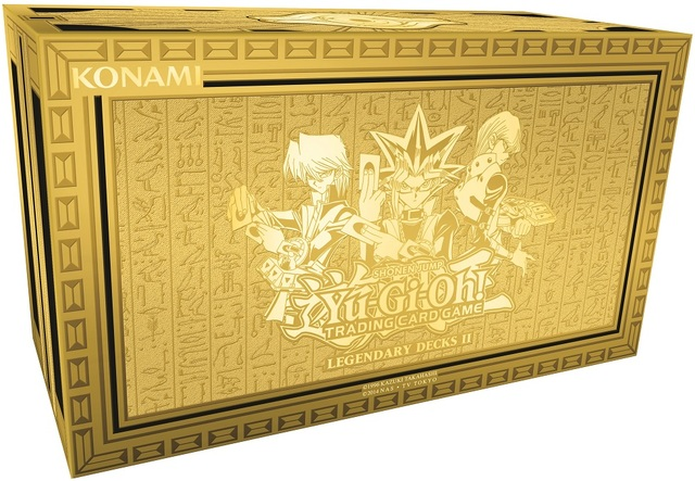 Yu-Gi-Oh Legendary Decks II Box Set