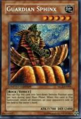Guardian Sphinx Secret Rare Holo MC2-EN001