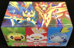 Japanese Pokemon Sword & Shield Galar Starters & Legendary Pokemon Storage Box