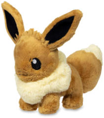 Pokemon Center Sitting Eevee Plush 8